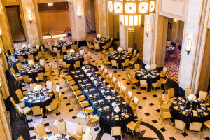 Gold and Black Wedding Reception1