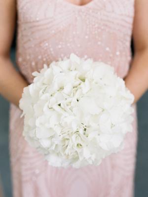 Hydrangea Pomander Bouquet