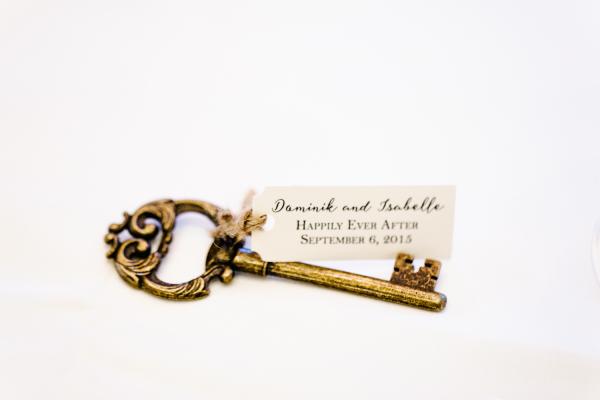 Key Wedding Favor