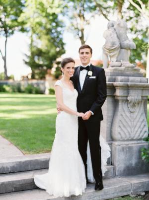 Lake Forest Illinois Wedding Armour House
