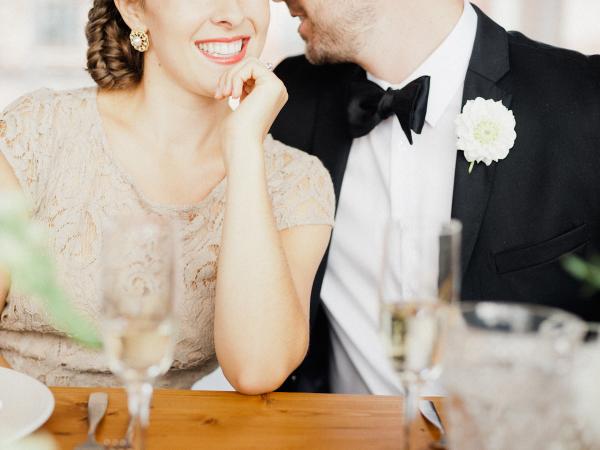 Loft Wedding Inspiration Merari Photography