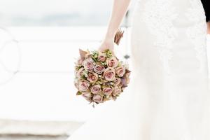 Mauve Rose Bouquet