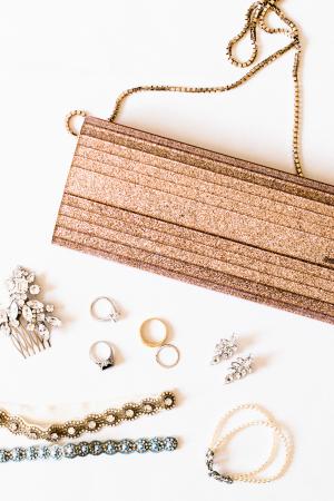 Metallic Bridal Accessories