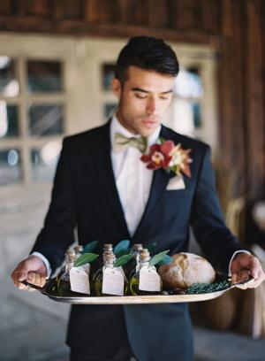 Olive Oil Favors for Wedding