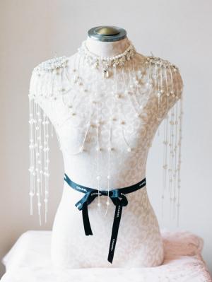 Pearl Shoulder Necklace