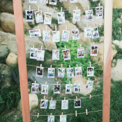 Polaroid Guest Book for Wedding
