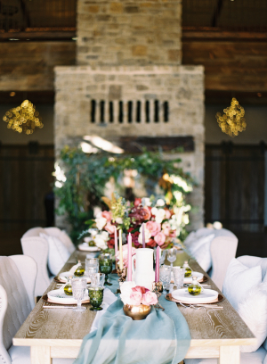 Red and Blue Fall Wedding Ideas