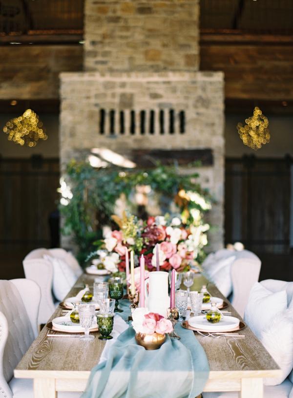 Red And Blue Fall Wedding Ideas Elizabeth Anne Designs The