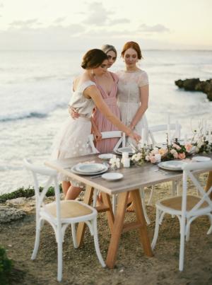 Seaside Bridesmaid Wedding Ideas