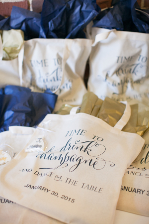 Tote Bags for Wedding Favors