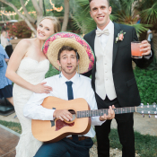 Wedding Guest in Sombrero