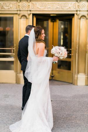 Wedding Photos at the Wrigley Building