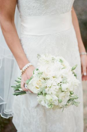 White Bride Bouquet