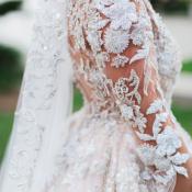 Applique Wedding Dress Bodice