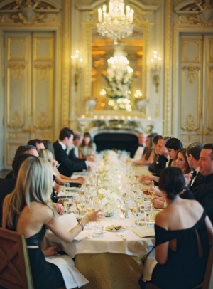 Black Tie Wedding in Paris