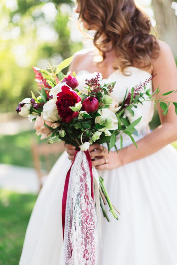 Burgundy Winter Bouquet