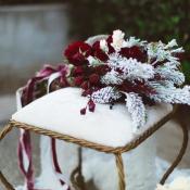 Burgundy and Gold Winter Wedding Ideas
