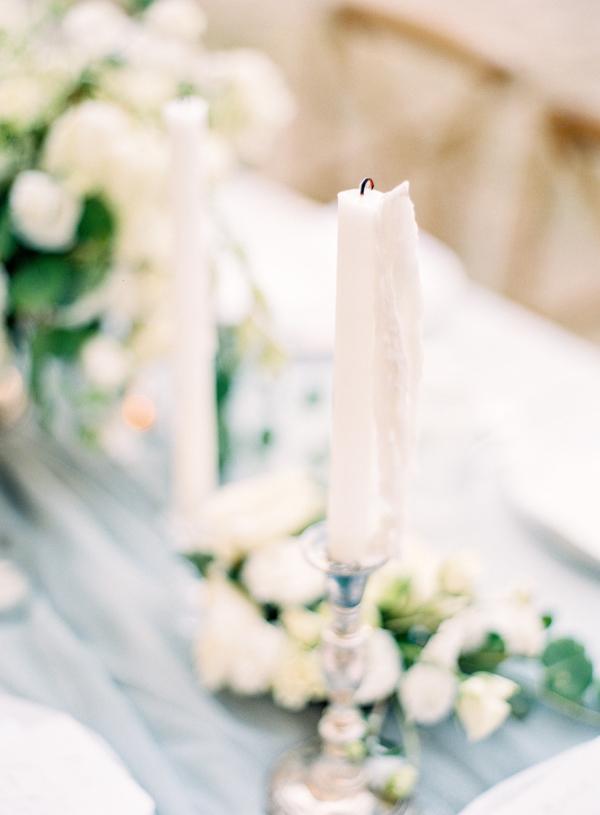Candlesticks at Wedding