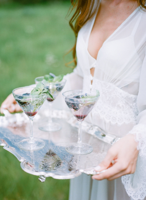 Cocktails with Berries