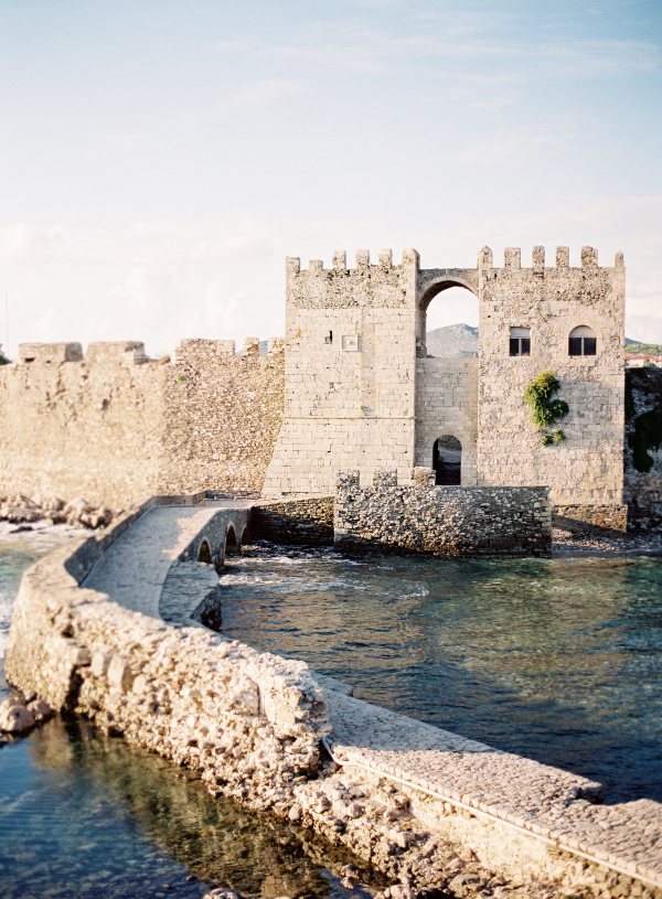 Entrance to Methoni Castle