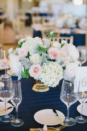 Gold and Blue Wedding