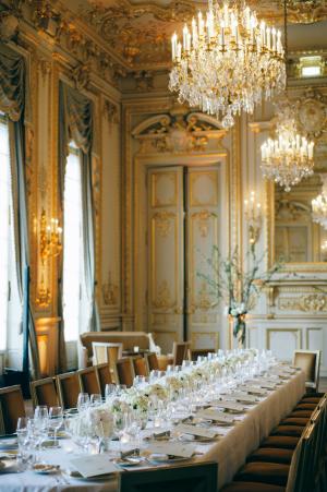 Ivory and Gold Elegant Wedding