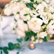 Ivory and Silver Wedding