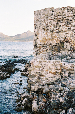 Methoni Castle Walls