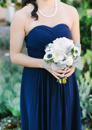 Navy Bridesmaids Dress