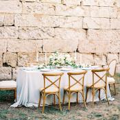 Outdoor Wedding at a Castle