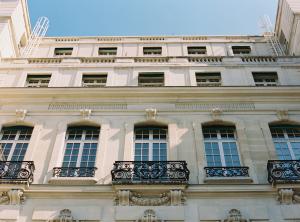 Paris Hotel Architecture