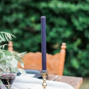 Purple Taper Candles