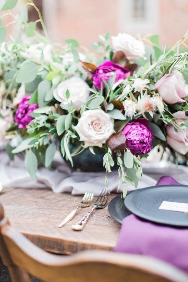 Purple Wedding Flowers