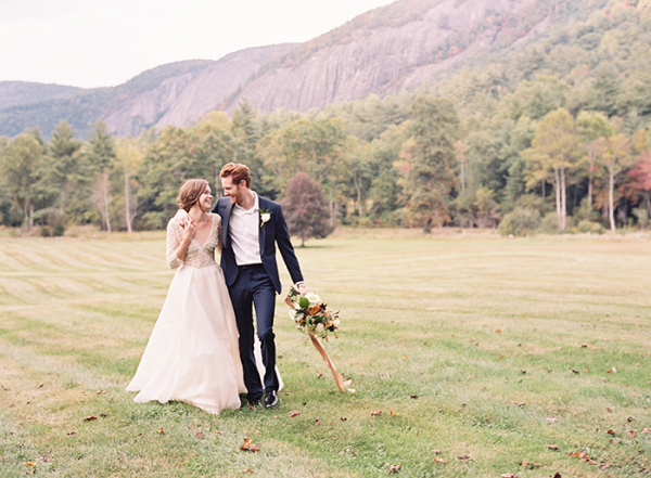 Romantic Outdoor Wedding Inspiration Eric Kelley