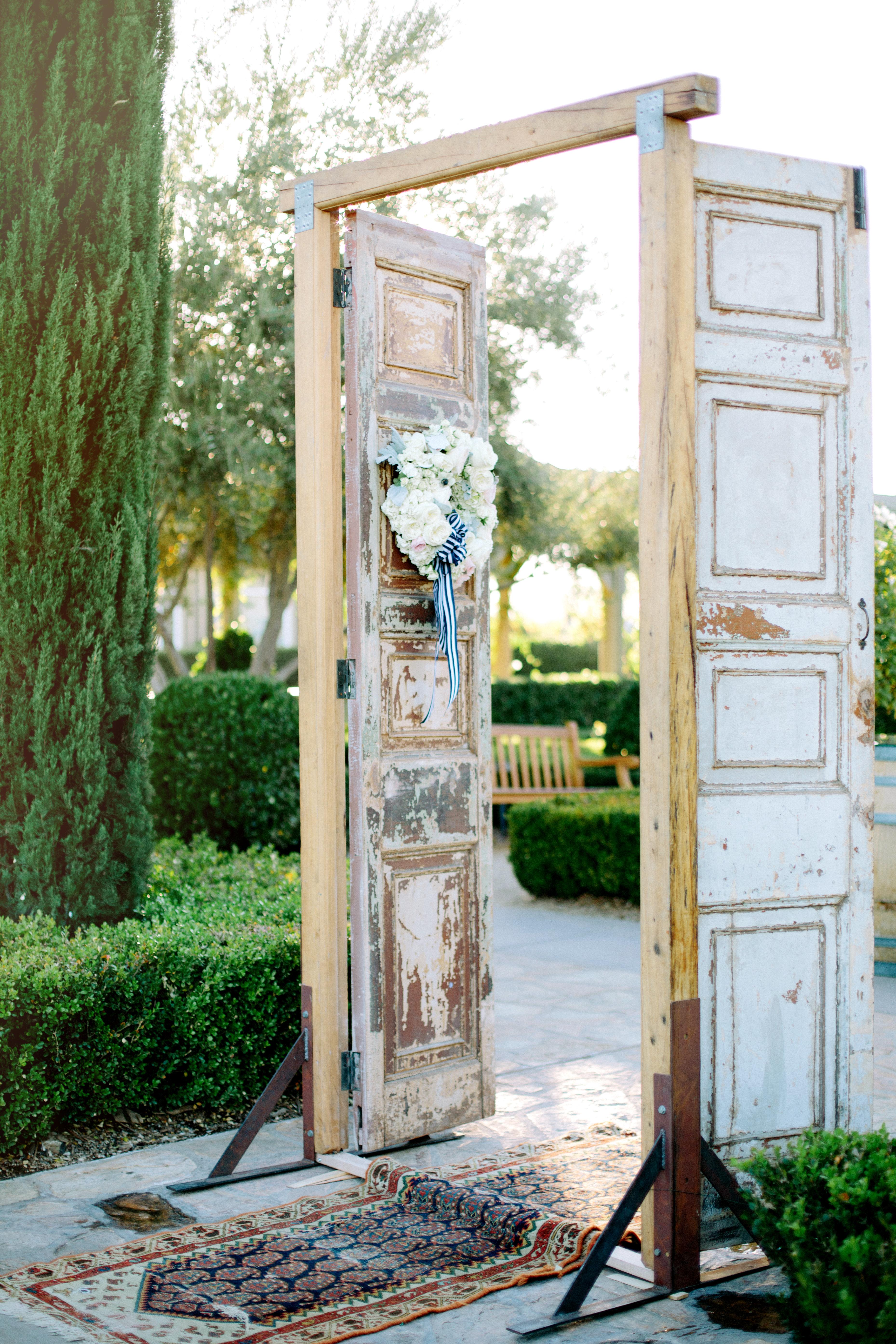 & Rustic Doors at Wedding - Elizabeth Anne Designs: The Wedding Blog