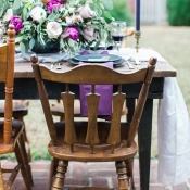 Rustic Wood Wedding Chairs