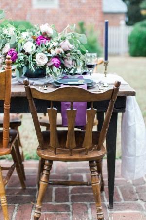 Rustic Wood Wedding Chairs