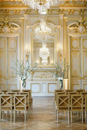 Wedding Ceremony at Paris Hotel