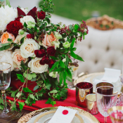 Wedding Table with Opulent Details