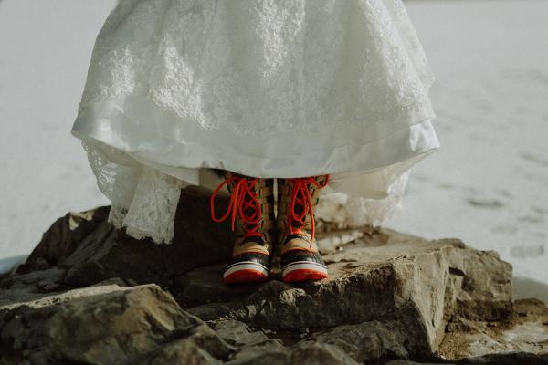 Bride Snow Boots