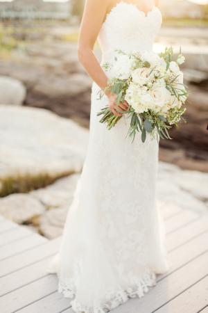 Bride in Casablanca Gown