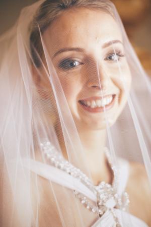 Bride in Italy Wedding
