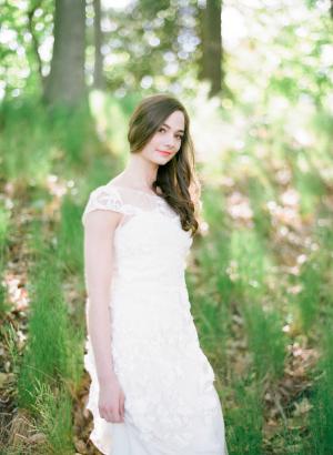 Bride in Kate McDonald