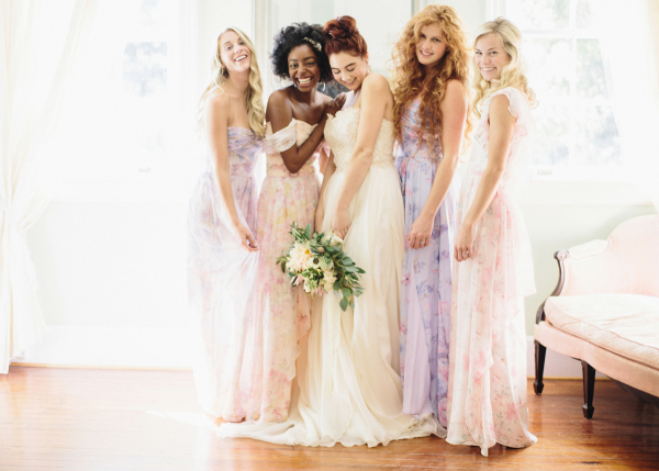Bridesmaids in PPS Couture