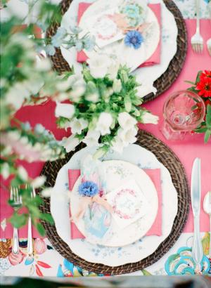 Colorful Garden Wedding Ideas