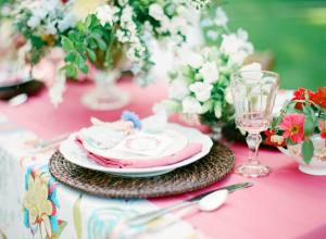 Colorful Pink Wedding Ideas