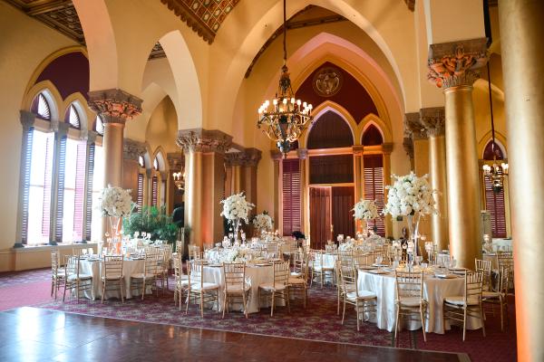 Elegant Ballroom Resort Wedding