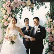 Elegant Flower Wedding Arch