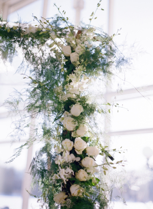 Flowers on Chuppah