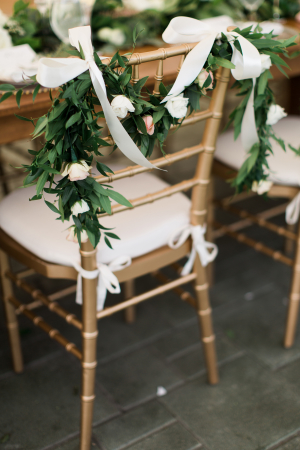 Garland Chair Decor